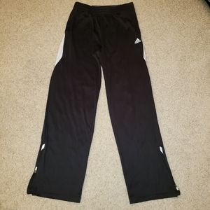 Adidas Boy's Black Track Pants Size Large